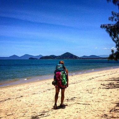 mel pack beach
